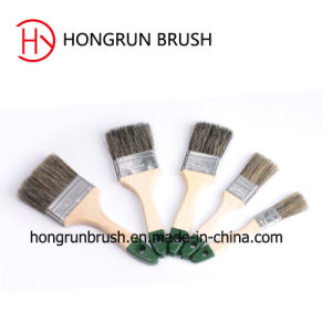 Paint Brush with Wooden Handle (HYW033) pictures & photos
