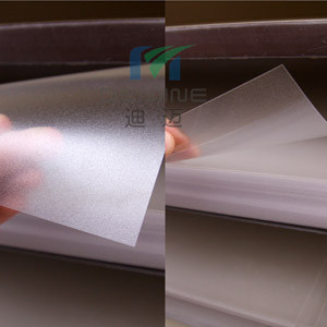 0.125mm/0.175mm/0.25mm/0.375mm/0.5mm/0.8mm Frosted Polycarbonate Film