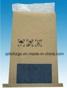 BOPP Film-Laminated Kraft PP Woven Paper Bag for Mortar pictures & photos