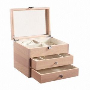 Luxurious Wooden Cosmetics Case with Mirror pictures & photos
