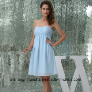 Chiffon Short Bridesmaid Dresses Wedding Party Dresses Robe Prom Gowns pictures & photos
