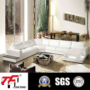 2016 Latest Design Leather Sofa (Jfu-8)