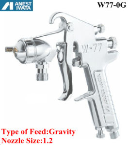 Anest Iwata Air Spray Gun Gravity Feed 1.2 Nozzle pictures & photos