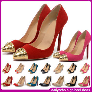 c26c3d778289 China 2014 New Style Stiletto Heel Casual Lady Shoes (D-76-877 ...