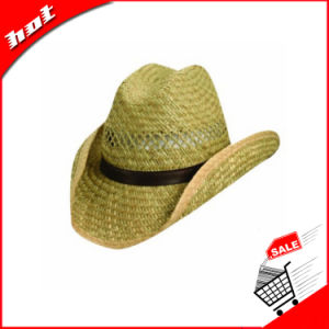 100%Hollow Straw Hat Cowboy Hat pictures & photos