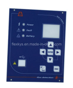 Custome Tactile Membrane Switches with Metal Dome and LED