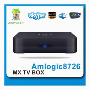 China Amlogic 8726-M6 TV Box Cortex A9 Dual Core Android Smart TV
