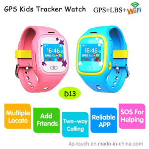 Silicon Band Watch GPS Tracker for Kids with Sos Buttom pictures & photos