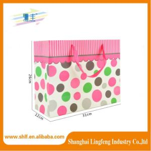 Lovely Craft Paper Shopping Bag for Girl