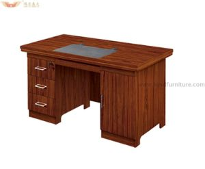 Wholesale Wood Veneer Exquisite Office Computer Staff Table for Office Furniture pictures & photos