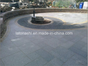 Natural Grey/Yellow/Red/Black/Pink/Granite/Basalt/Tumbled Cobble/Cube/Flagstone/Kerbstone/ Paving Stone for Landscape and Garden pictures & photos