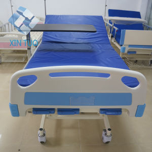 Medical Equipment Two Functions Manual Operated Bed for Hospital Patient pictures & photos