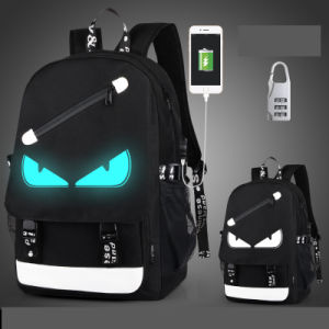 Luminous Backpack with One Inside USB Datacabl