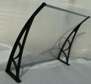 Polycarbonate Canopy/PC Canopy/Aluminum Door PC Canopy/Door Canopy/ PC  Awning