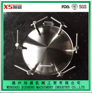 Hot Sale Stainless Steel SUS304 Tank Pressure Circular Manhole Cover pictures & photos