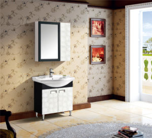Modern Style Bathroom Vanity with Mirror (T-9752) pictures & photos