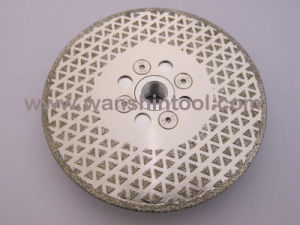 5′′ Electroplated Cutting and Grinding Disc pictures & photos