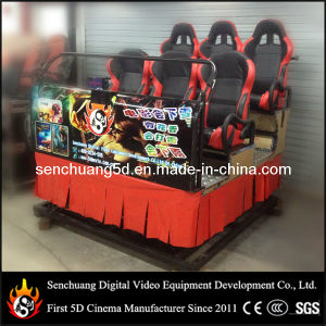 Hydraulic Platform with Six 6 Seats Motion 5D Cinema