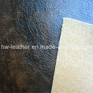 Fashion PVC Leather for Furniture Hw-743 pictures & photos