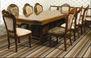 Hotel Luxury Dining Table and Chair/5 Star Hotel Luxury Dining Sets (JNCT-058) pictures & photos