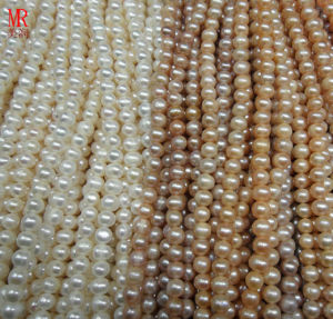 9-10mm Round Cultured Freshwater Pearls Strands pictures & photos
