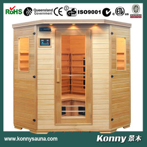 2014 Kl-3sc Indoor Far Infrared Sauna with Ceramic Heaters