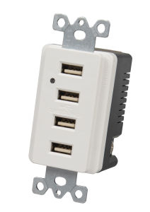 Power Supply USB UL Standard Receptacle for Residence pictures & photos