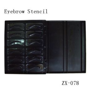 High Qualityd 3D Eyebrow Shapingd Ddesign Stedncil pictures & photos