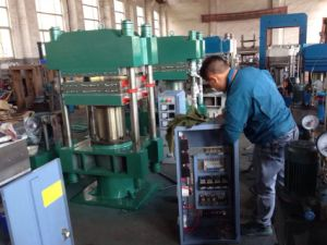 25t PVC and Rubber Daylight Press/ Hot Press Machine pictures & photos