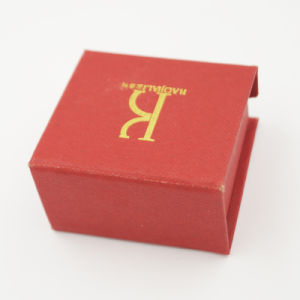 Logo Printing Ring Jewel Jewelry Box for Promotion (J85-AX)