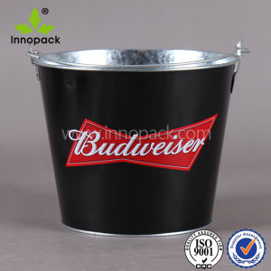 Custom Metal Beer Ice Bucket with Logo pictures & photos