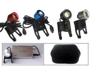 Dental Loupes Surgical Medical Binocular Optical Glass 3.5X420mm LED Headlight pictures & photos
