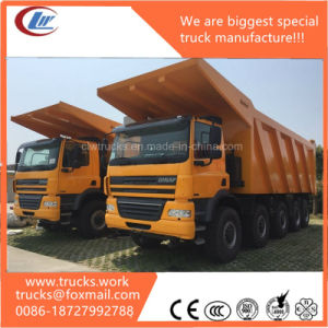 20wheels 5axles 60tons Coal Mine Loading Capacity Heavy Dump Truck pictures & photos