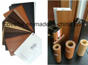 P; Astic Cover/Laminating PVC Foil for Wall Panel/Window Profiles