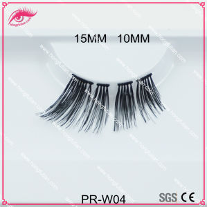 New Designed Human Hair False Eyelash for Makeup Artist Eye Lash pictures & photos