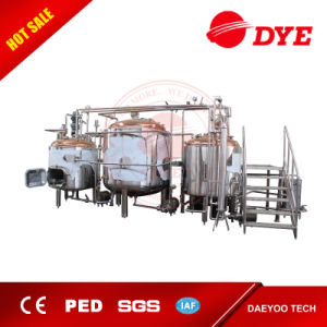 1000L Steam Heating Brewing System for Sale, Brewhouse for Hotel