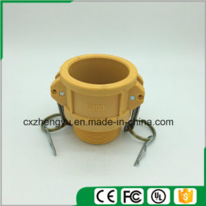 Plastic Camlock Couplings/Quick Couplings (Type-B) , Yellow Color