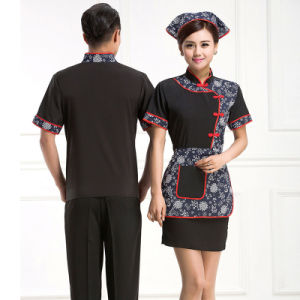 Made in China Workwear Restaurant Waiter Uniform pictures & photos