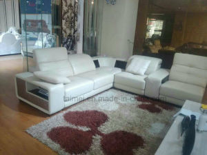 Fashion L Shape Sectional Genuine Leather Sofa (corner sofa) pictures & photos
