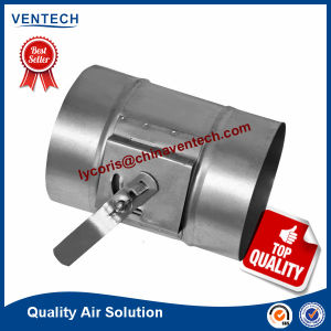 Air Conditioning Ventilation Round Manual Volume Control Damper pictures & photos