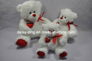 3 Sizes Plush Big Bear Skins with Ribbon pictures & photos