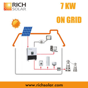 7kw Grid PV Solar Power System with Solar Panel