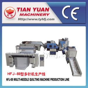 Multi Needle Quilting Machine Production Line (HFJ-89) pictures & photos