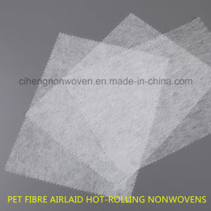 Airlaid Thermo-Bonded Nonwovens Pet Fibre pictures & photos