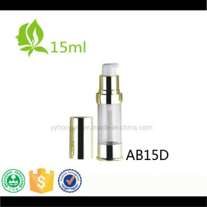 15ml Golden Airless Pump Bottle Aluminium Cosmetic Airless Bottle pictures & photos