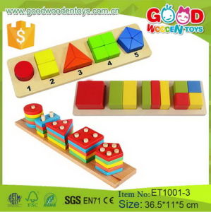 China Preschool Educational Teaching Aids Wooden Baby Learning Toy