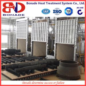 High Temperature Car Type Resistance Furnace with High Precision Temperature Control System pictures & photos