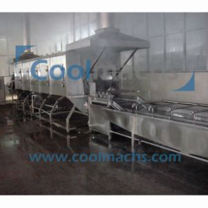Vegetable and Fruit Quick Freezing Production Line/Quick Freezing Line pictures & photos