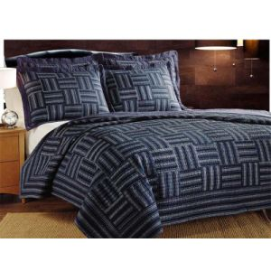 China Simple Geometric Pattern Design Patchwork Bedding Set Quilts Summer Wspq 2016007 Quilt