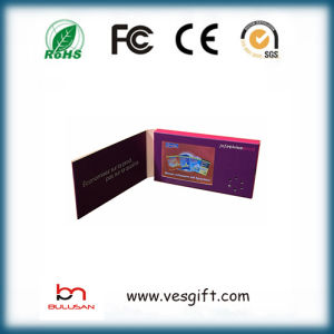 5.0 Inch Video Brochure LCD Greeting Cards pictures & photos